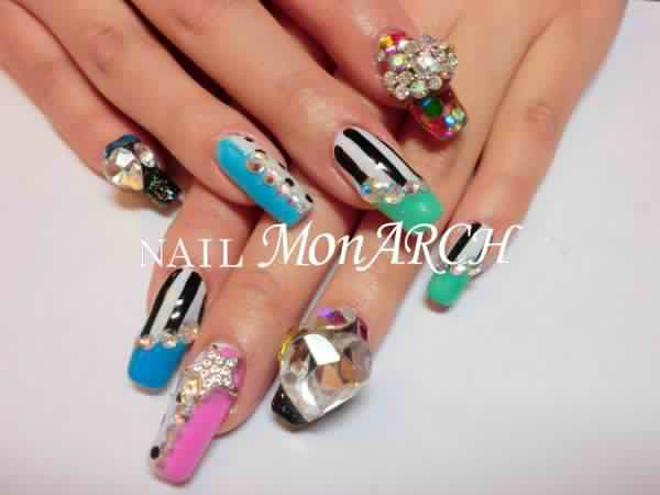 Park boms fancy nail arts by nail monarch welovebom nail prinsesfo Image collections
