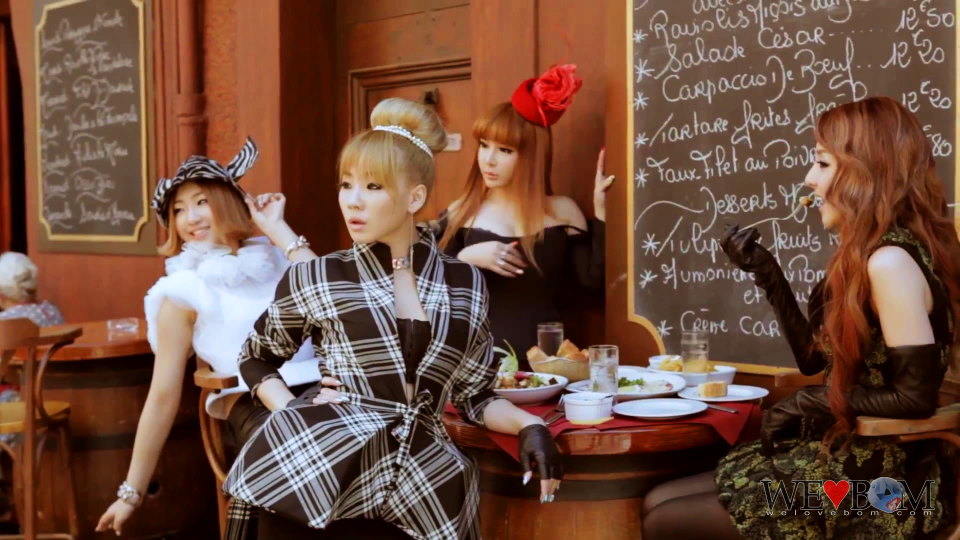 2NE1 X W Korea in Cannes, France 0676