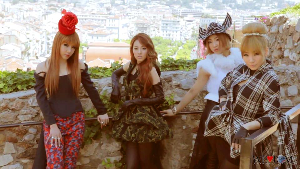 2NE1 X W Korea in Cannes, France 2292