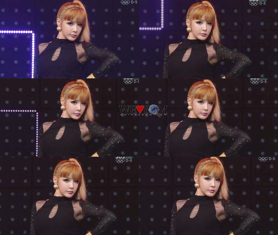 2NE1_0722_SBS Inkigayo_I LOVE YOU 5930-tile