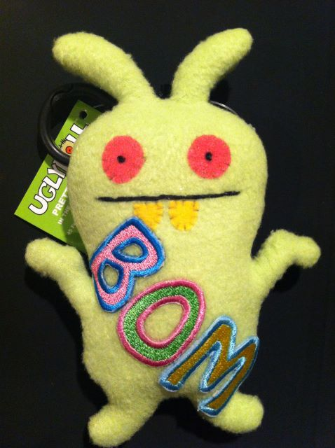 An ugly doll given to Bom
