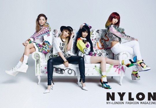 2ne1-nylon-cover-models
