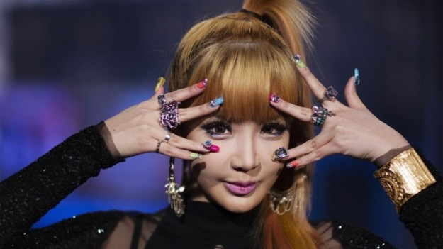 Bom, a member of the South Korean band 2NE1, poses for a portrait in New York August 20, 2012. REUTERS/Lucas Jackson (UNITED STATES - Tags: ENTERTAINMENT HEADSHOT)