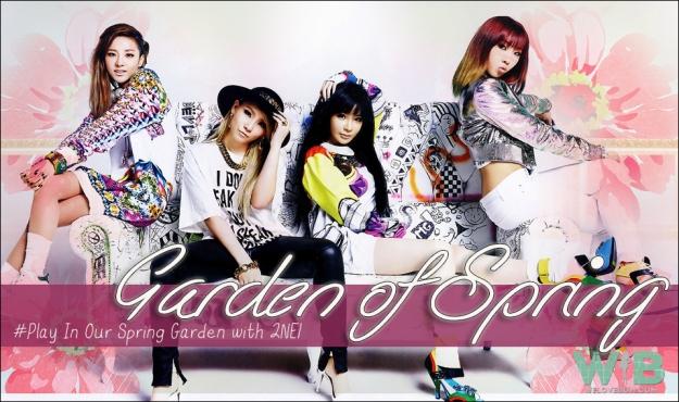 garden of spring 2NE1
